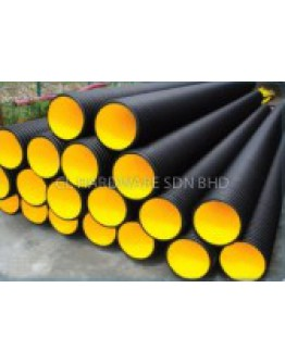 200MM X 6M HDPE D/W SEWER PIPE