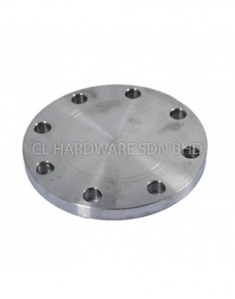 """12"""" 10K BLANK FLANGE  (No. of Bolts: 16)"""