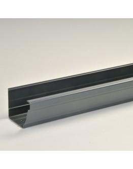5.8M F300 PVC GUTTER (GREY)